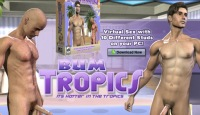 Download Bum Tropics game and fuck action gays