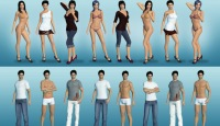 Chathouse 3D picture of 3D gay models