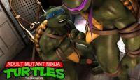 Anime gay cartoons with ninja turtles fucking