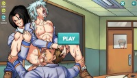Play Gay Harem game with threesome Yaoi porn