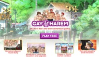 Play Gay Harem gay game to fuck boys