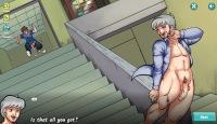 Play Gay Harem and follow the nude school boy