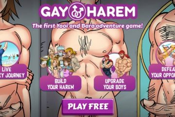 Yaoi manga porn game with Gay Harem pictures